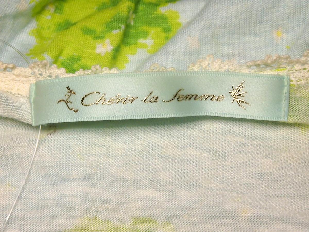 Cherir La Femme(シェリーラファム)のカットソー