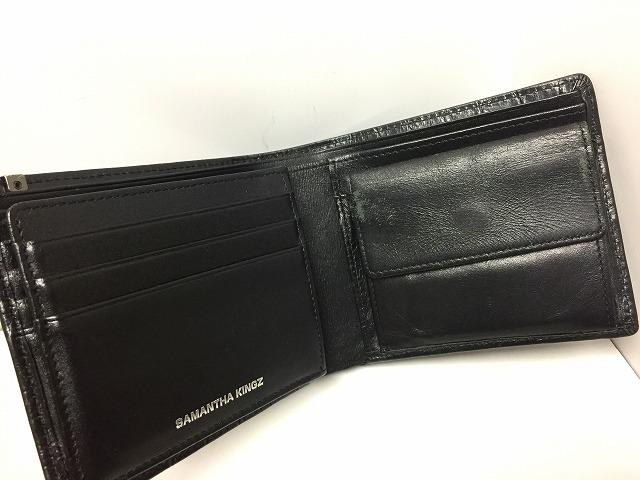 Samantha kingz(サマンサキングズ)の2つ折り財布