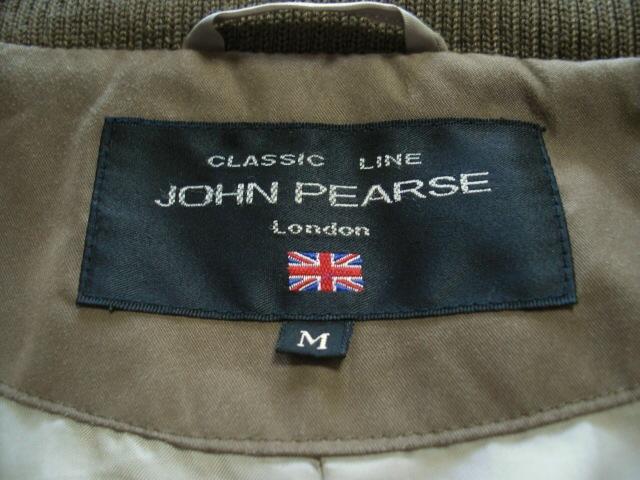 JOHNPEARSE(ジョンピアース)のコート