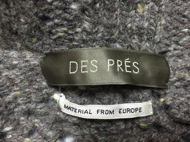 DES PRES(デプレ)のカーディガン