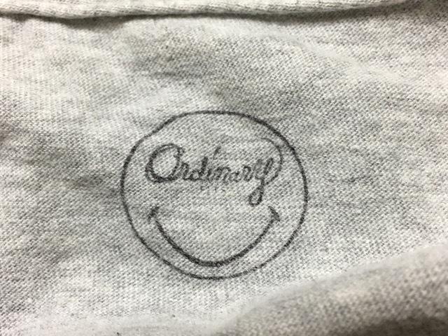 Ordinary fits(オーディナリーフィッツ)のTシャツ