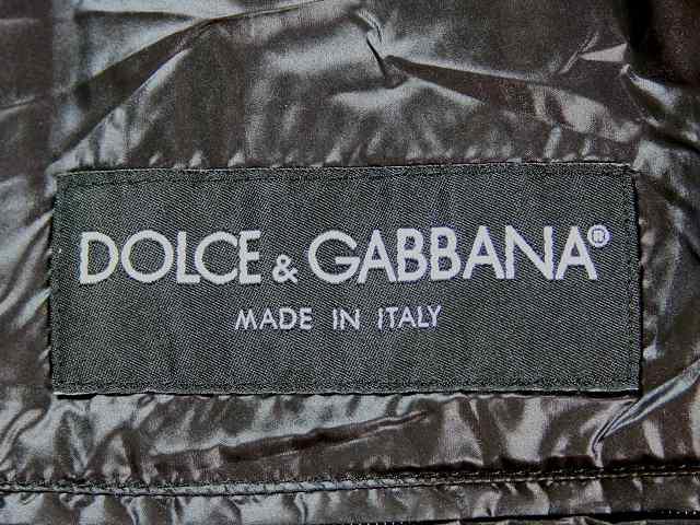 DOLCE&GABBANA(ドルチェアンドガッバーナ)のダウンベスト