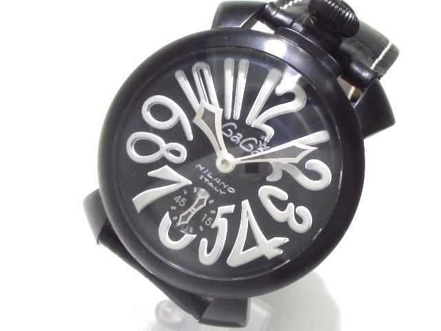 new styles c4984 a5313 GAGA MILANO(ガガミラノ)/マヌアーレ48/腕時計/型番-の買取実績 ...