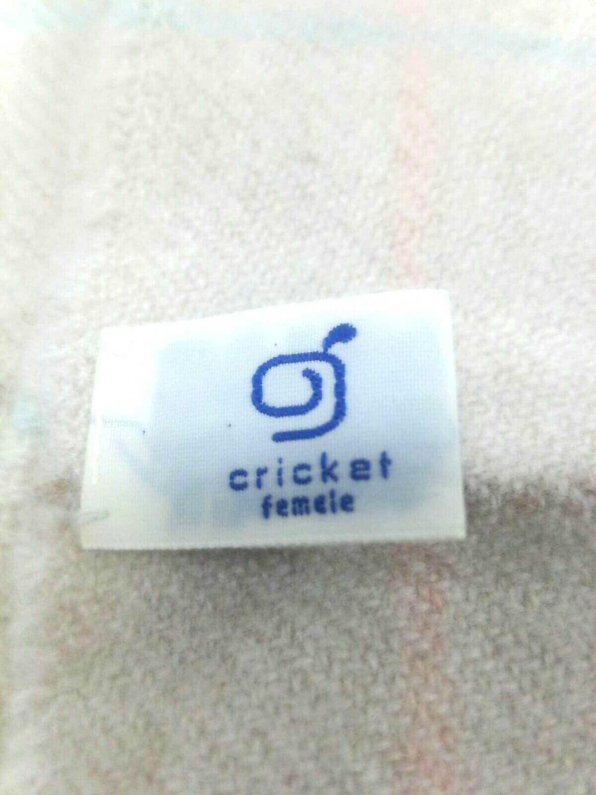 CRICKET(クリケット)のマフラー