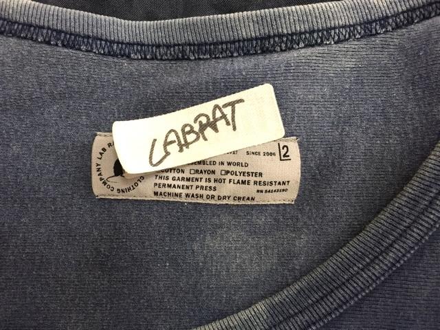 LABRAT(ラブラット)のトレーナー