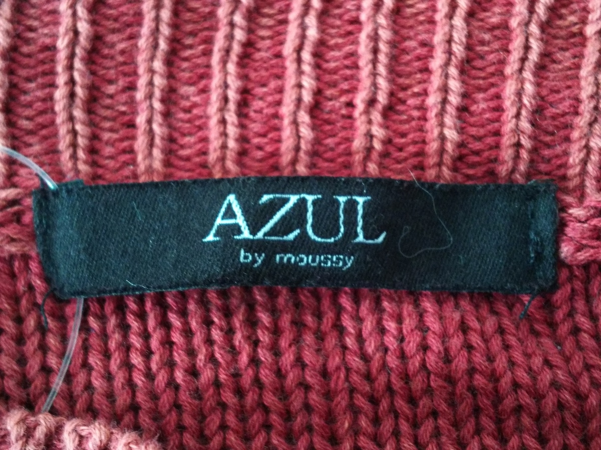 AZUL by moussy(アズールバイマウジー)のセーター
