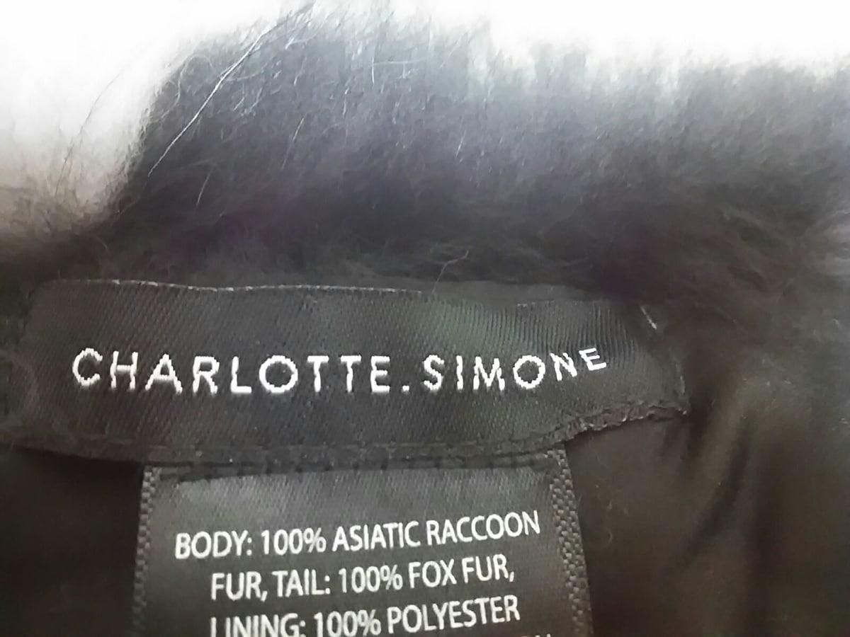 CHARLOTTE.SIMONE(シャーロットシモーヌ)のマフラー