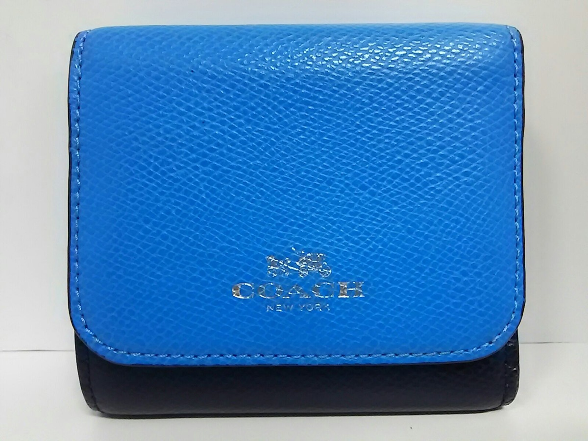online retailer 6726c d4ee9 COACH(コーチ)/カラーブロック クロスグレインレザー スモール/W ...