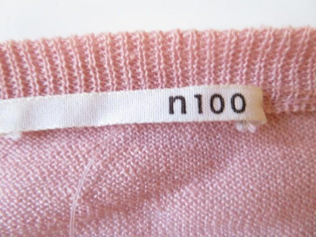 n100(エヌワンアンドレッド)のカーディガン