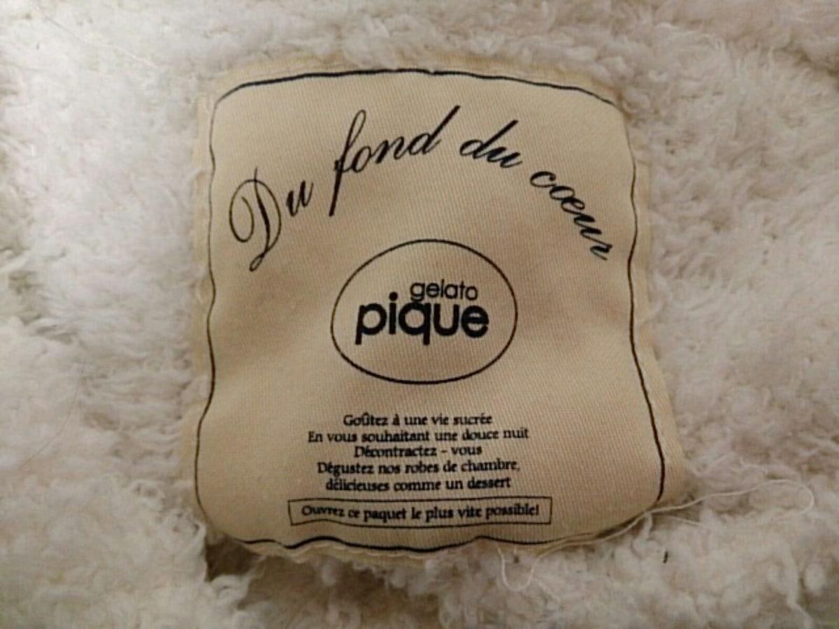 gelato pique(ジェラートピケ)のブルゾン