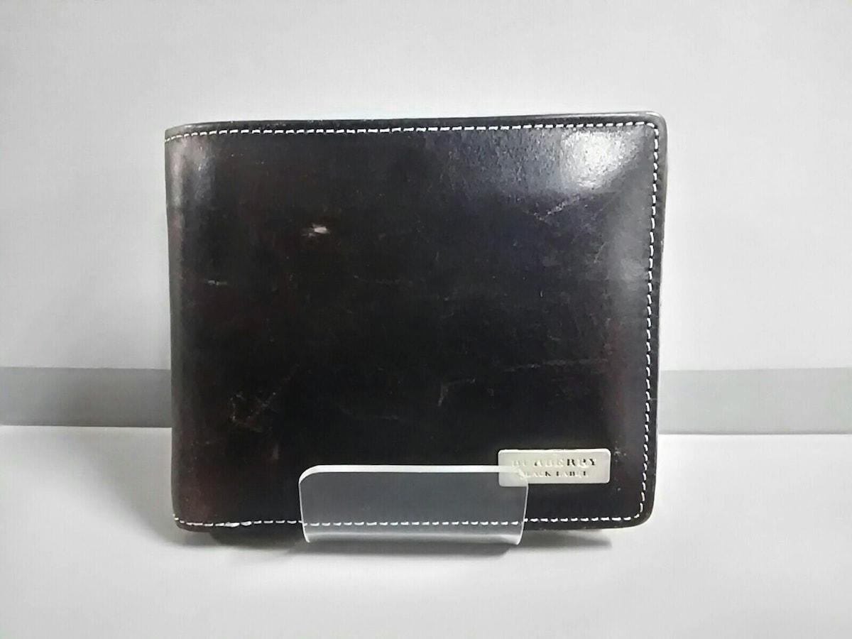 cheap for discount e314c 7b24c Burberry Black Label(バーバリーブラックレーベル)/2つ折り財布 ...