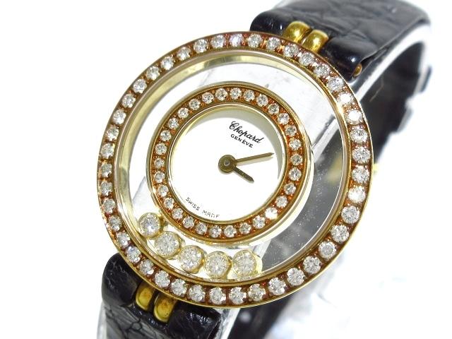 huge discount 55ab6 9e4ca Chopard(ショパール)/ハッピーダイヤモンド/腕時計/型番20/5448 ...