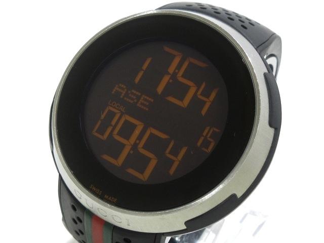 super popular bcb40 8aa04 GUCCI(グッチ)/アイグッチ スポーツ/腕時計/型番114.1/YA114103 ...