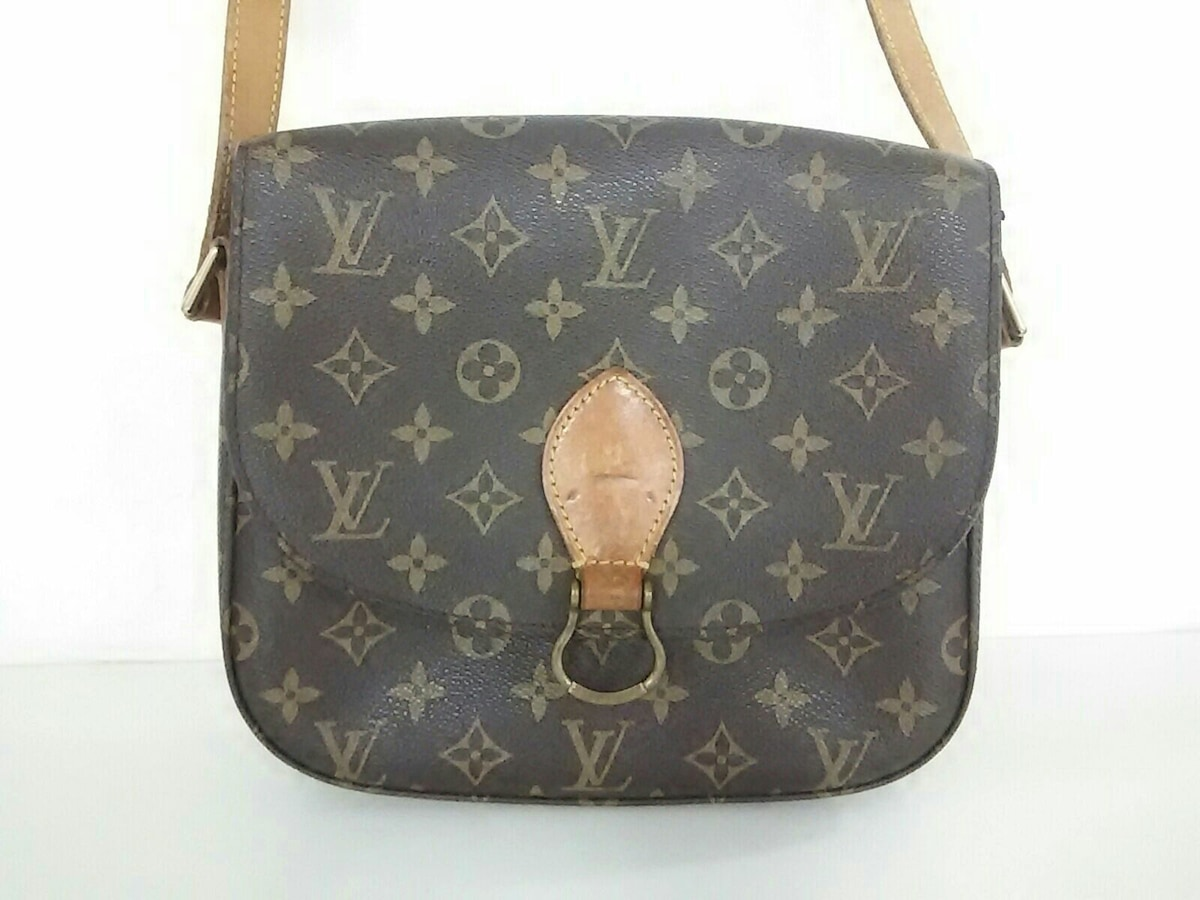00e4fbe6bc6a Detalles acerca de Auth Louis Vuitton Saint Cloud GM M51242 TH0957 lona  Monogram- mostrar título original