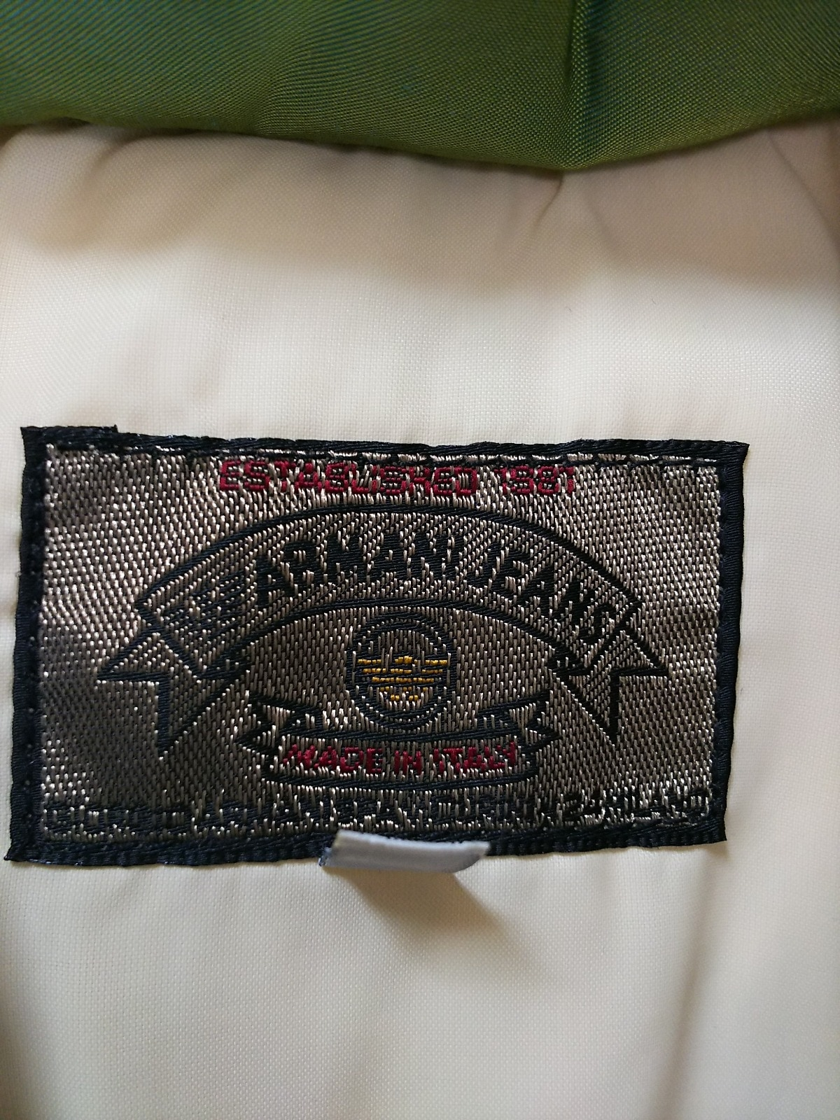 ARMANIJEANS(アルマーニジーンズ)のダウンベスト