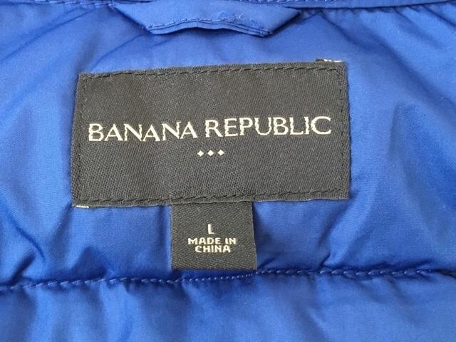 BANANA REPUBLIC(バナナリパブリック)のダウンベスト