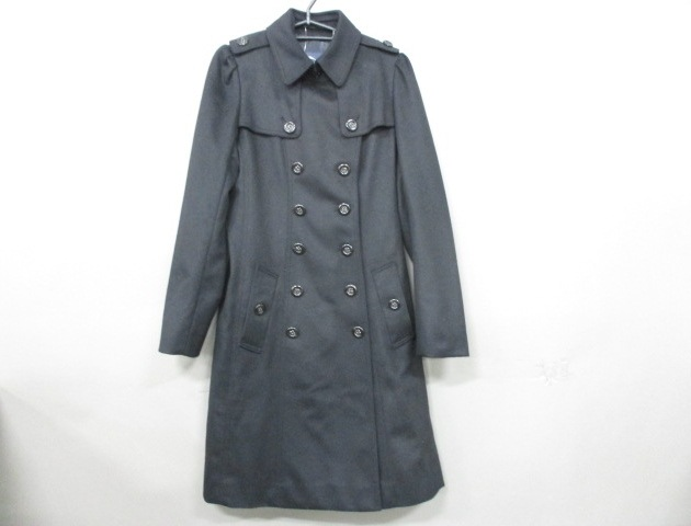 Burberry LONDON(バーバリーロンドン)のコート 黒