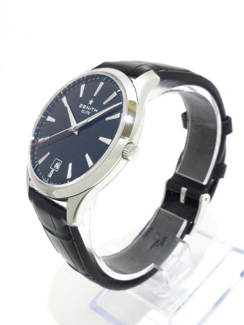 new product 03a88 8742b ZENITH(ゼニス)/キャプテン エリート セントラルセコンド/腕時計 ...