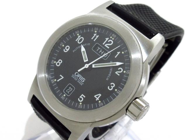 ORIS(オリス)の腕時計 黒