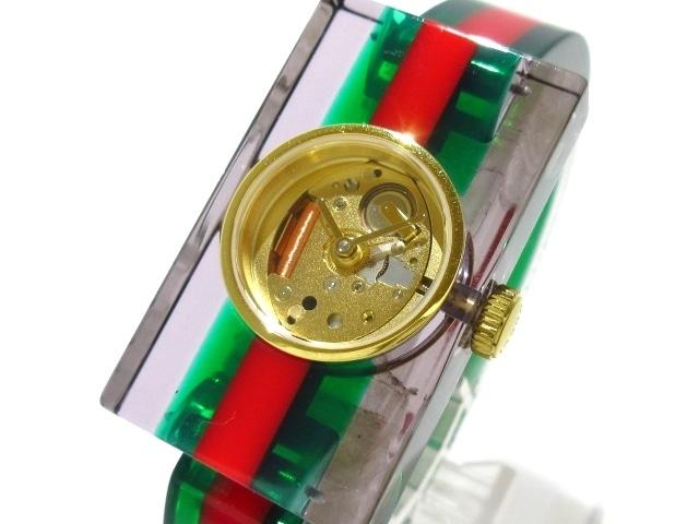 premium selection d5bc4 b2e41 GUCCI(グッチ)/ヴィンテージ ウェブ ミディアム ウォッチ/腕時計 ...