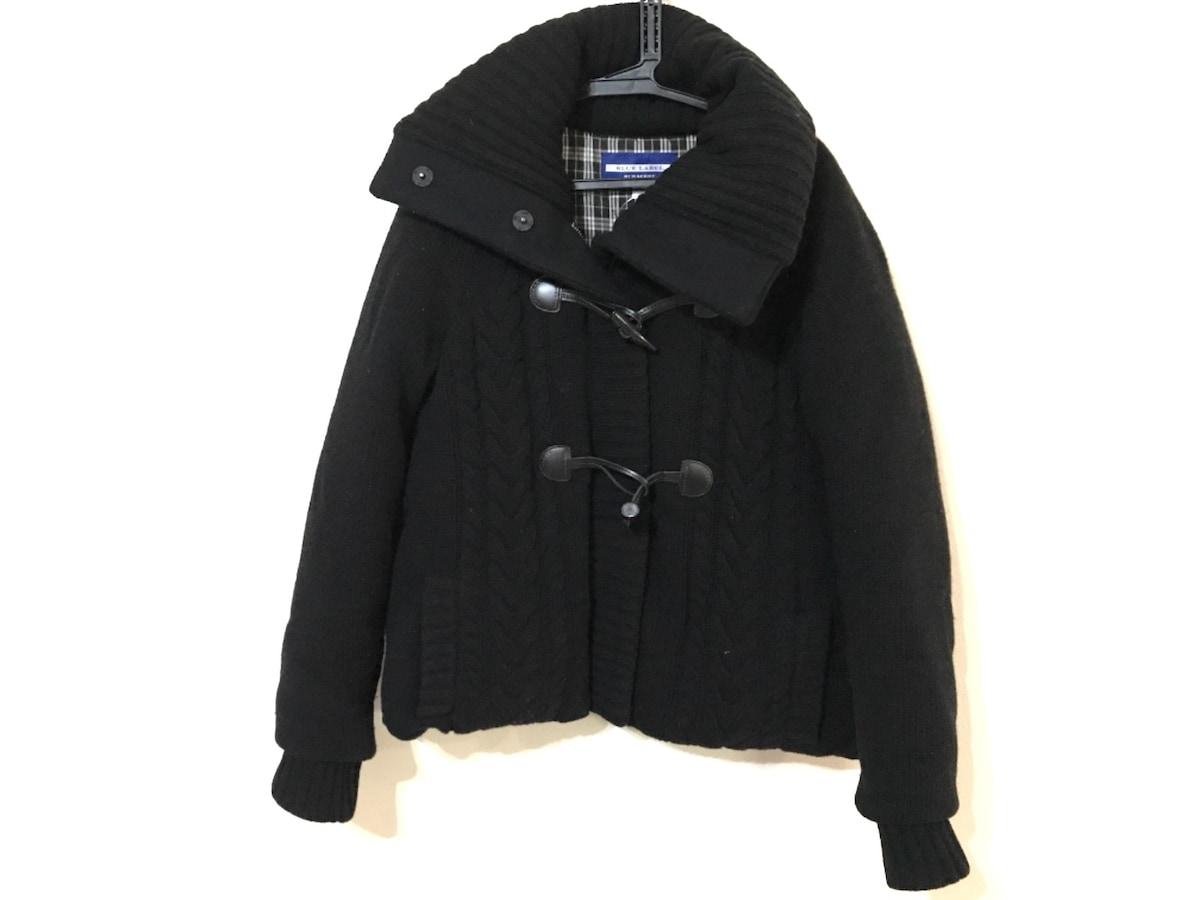 Burberry Blue Label(バーバリーブルーレーベル)のダウンジャケット 黒