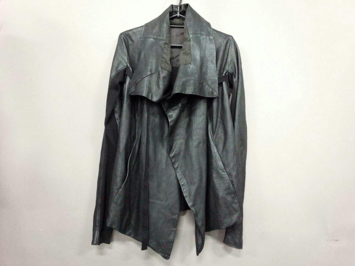 Rick Owens(リックオウエンス)のコート 黒