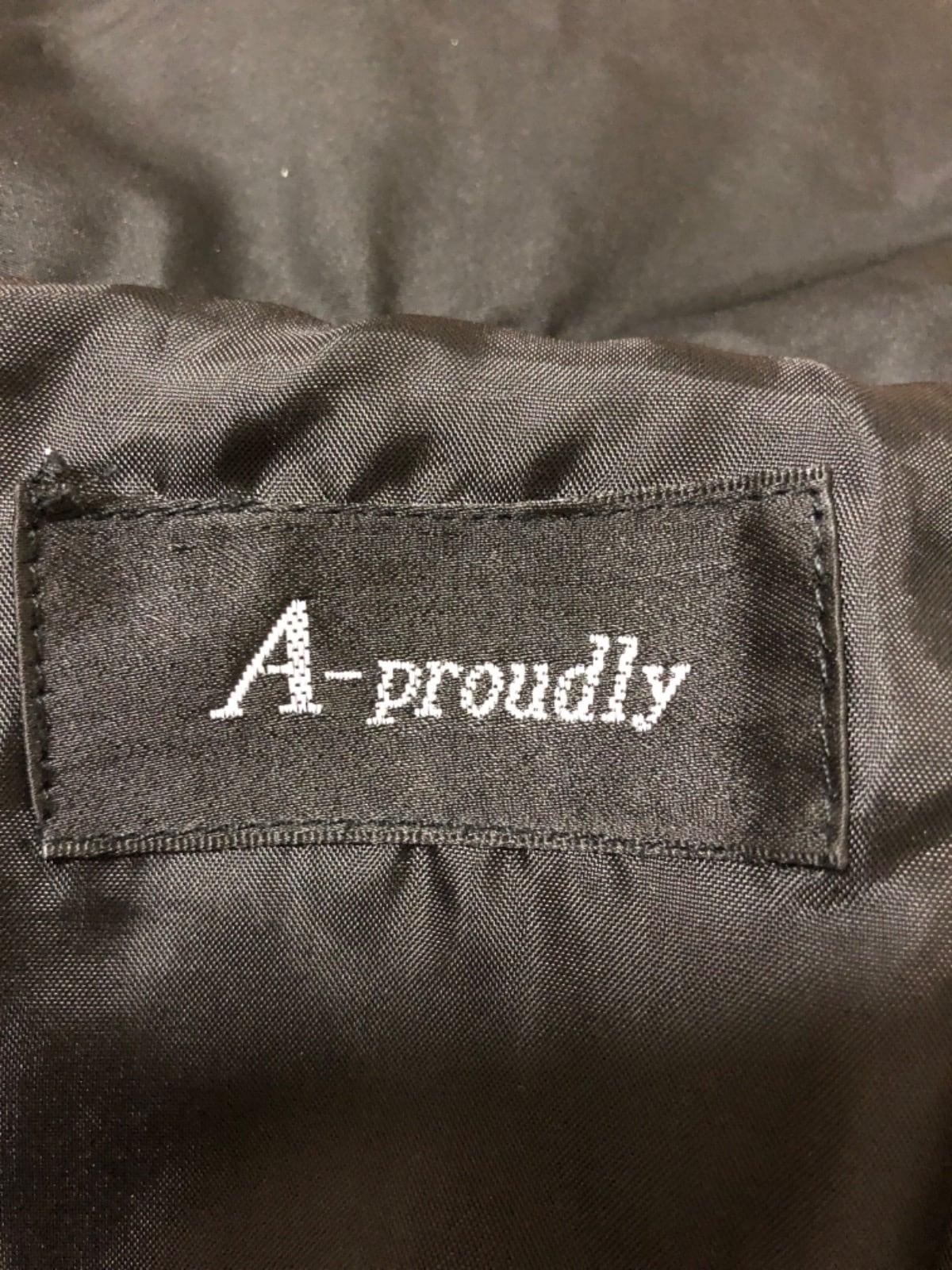 A-proudly(エープラウドリー)のダウンコート