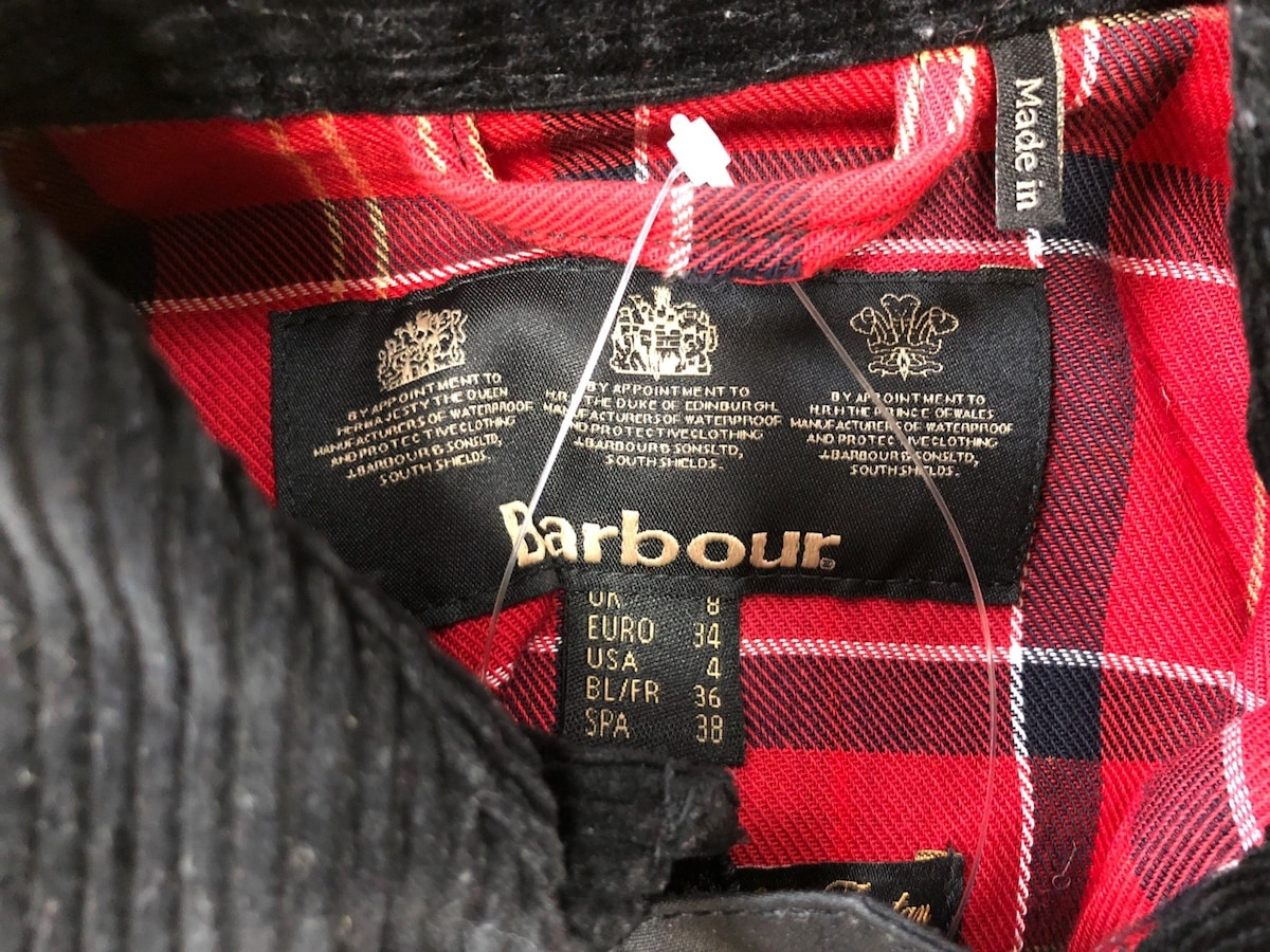 Barbour(バーブァー)のコート
