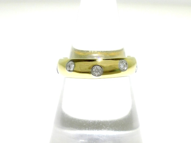 TIFFANY&Co.(ティファニー)のダイヤモンドドッツバンドリング