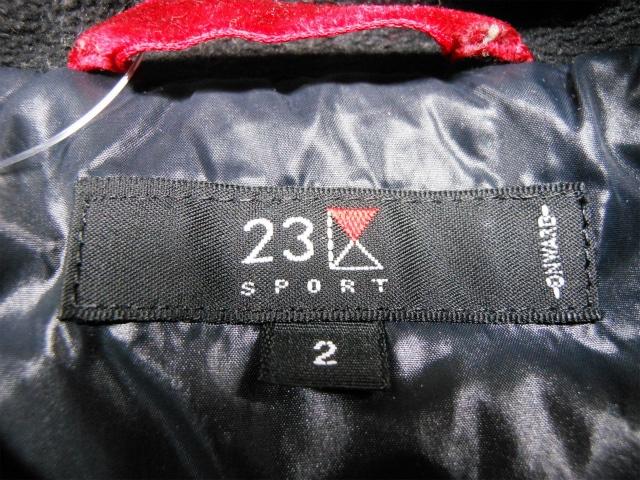 23区 SPORT(ニジュウサンク スポーツ)のダウンジャケット