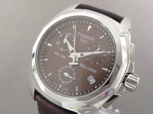 TISSOT(ティソ)の腕時計 ダークブラウン