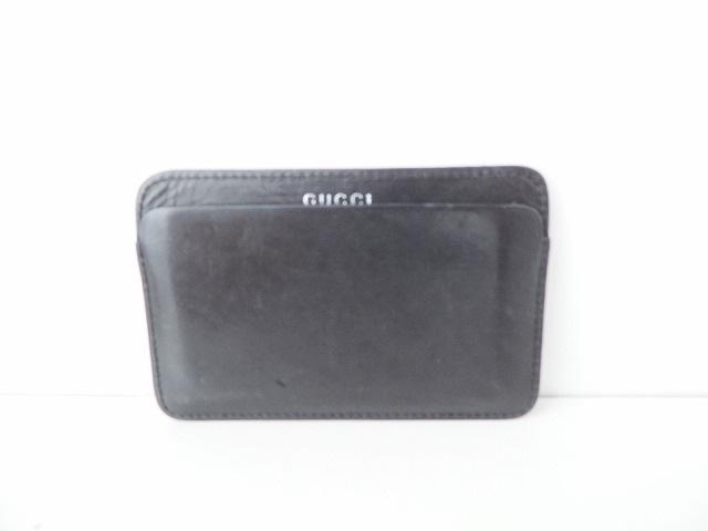 bebea7951539 GUCCI(グッチ) カードケース - - 黒 レザー(12054374)中古|ブランド ...