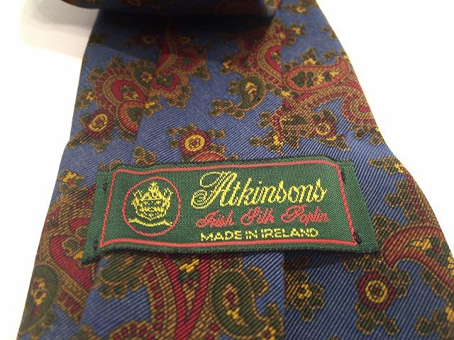 Atkinsons(アトキンソンズ)のネクタイ