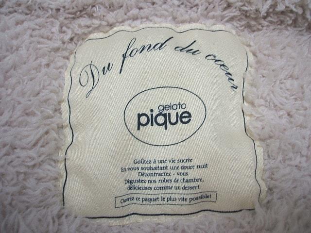gelato pique(ジェラートピケ)のコート