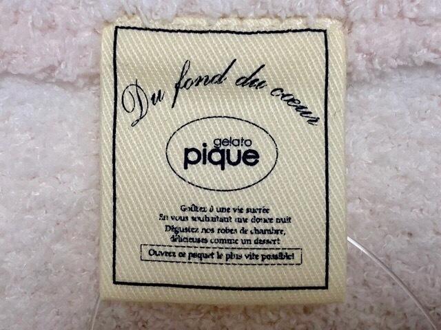 gelato pique(ジェラートピケ)のカットソー