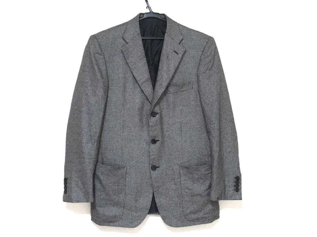 Brioni(ブリオーニ)のジャケット アイボリー×黒