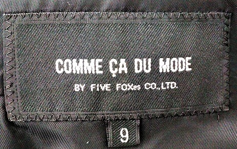 COMME CA DU MODE(コムサデモード)のコート