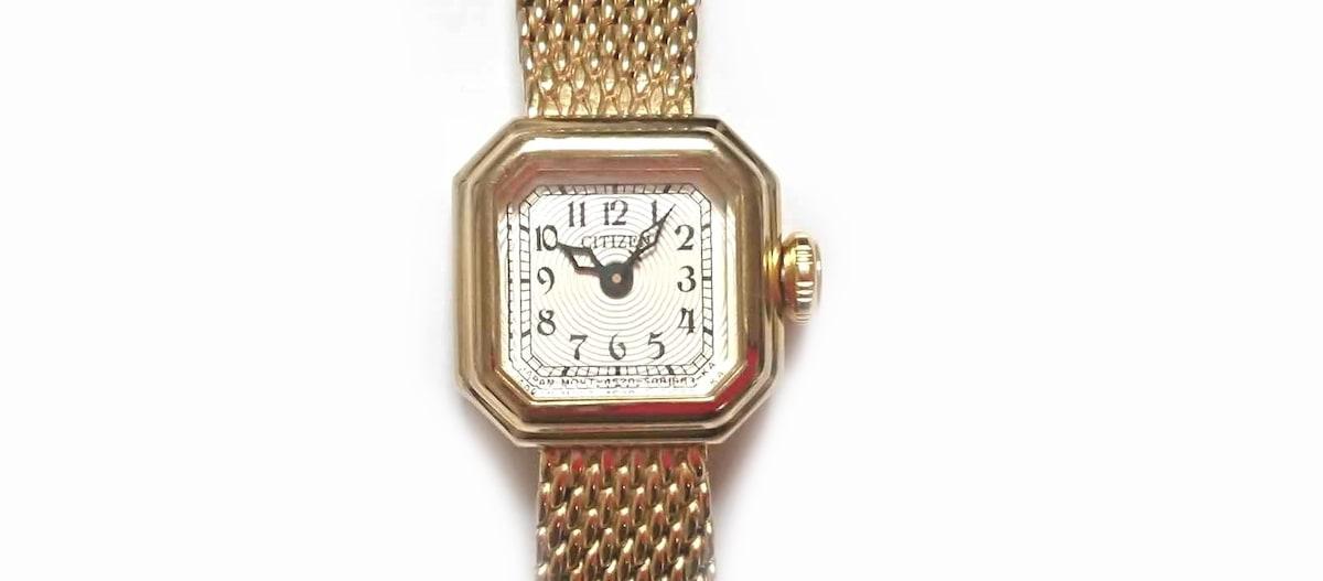 a1f4806d6ea0 CITIZEN(シチズン) 腕時計美品 4520-S052637 レディース アイボリー ...