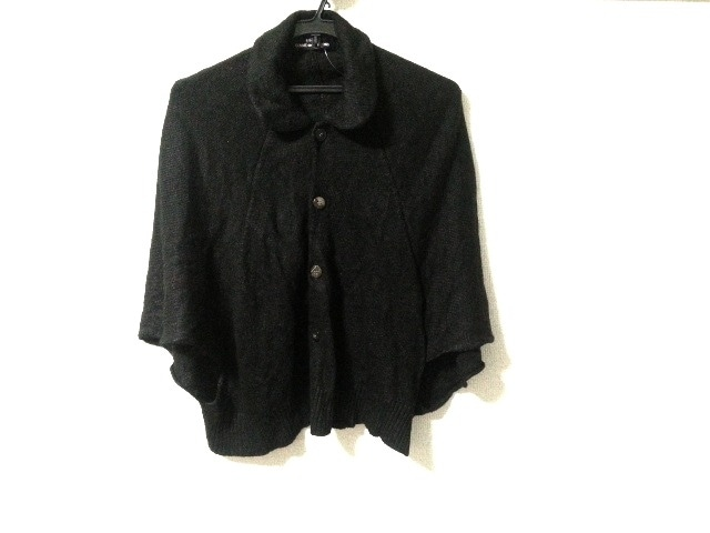 tricot COMMEdesGARCONS(トリココムデギャルソン)のポンチョ 黒