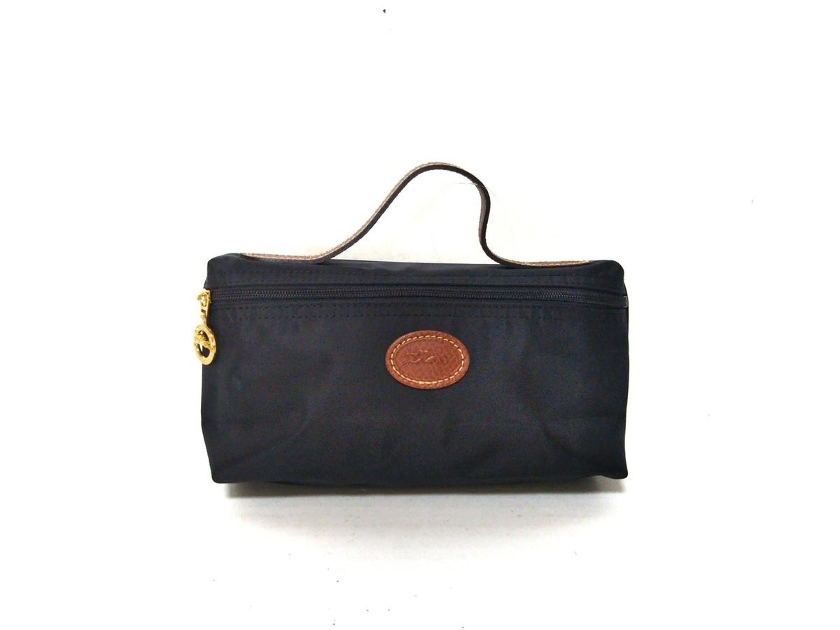 944db3f374e5 LONGCHAMP(ロンシャン) ハンドバッグ美品 黒×ブラウン ミニサイズ ...