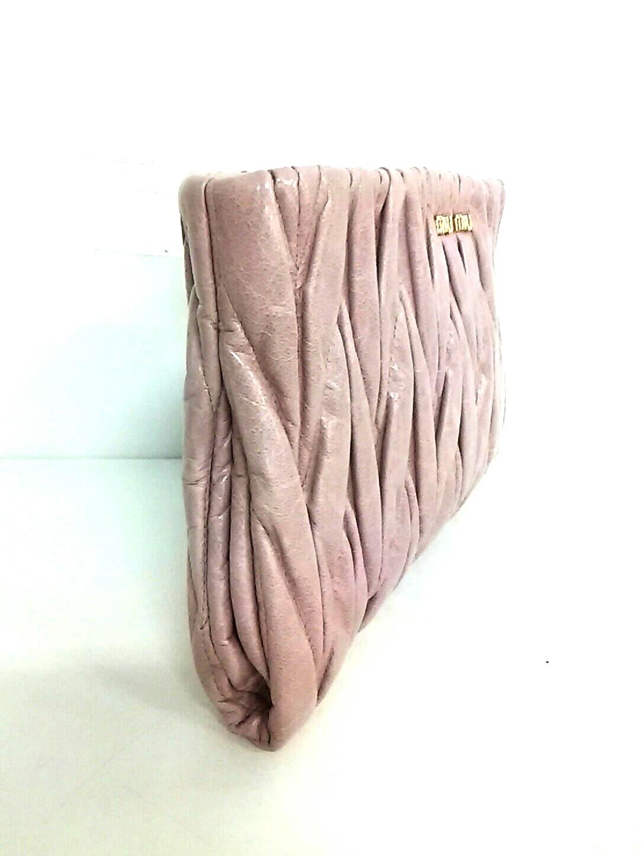miumiu(ミュウミュウ)のマテラッセ/ギャザーバッグ