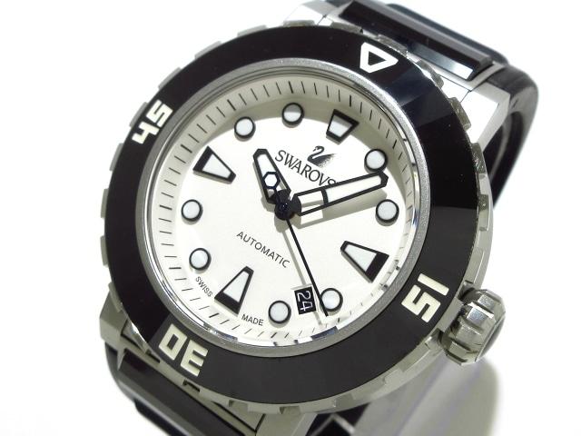 SWAROVSKI(スワロフスキー)の腕時計 白