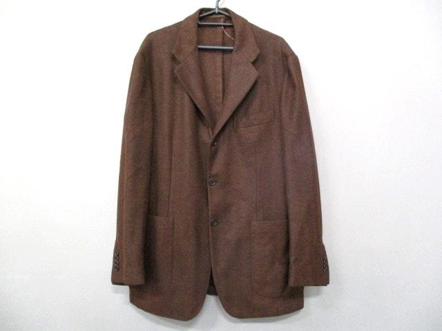 Kiton(キートン)のジャケット ダークブラウン
