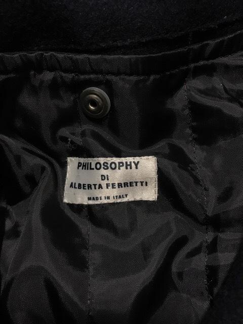 PHILOSOPHY di ALBERTA FERRETTI(フィロソフィーディアルベルタフェレッティ)のコート