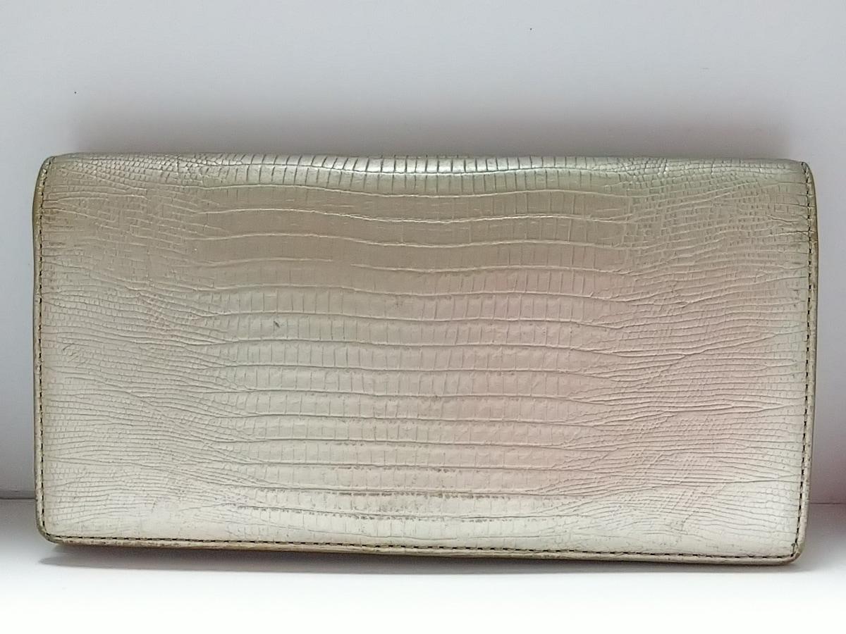 new product f92e0 23b94 TOPKAPI(トプカピ) 長財布 ゴールド 型押し加工 レザー
