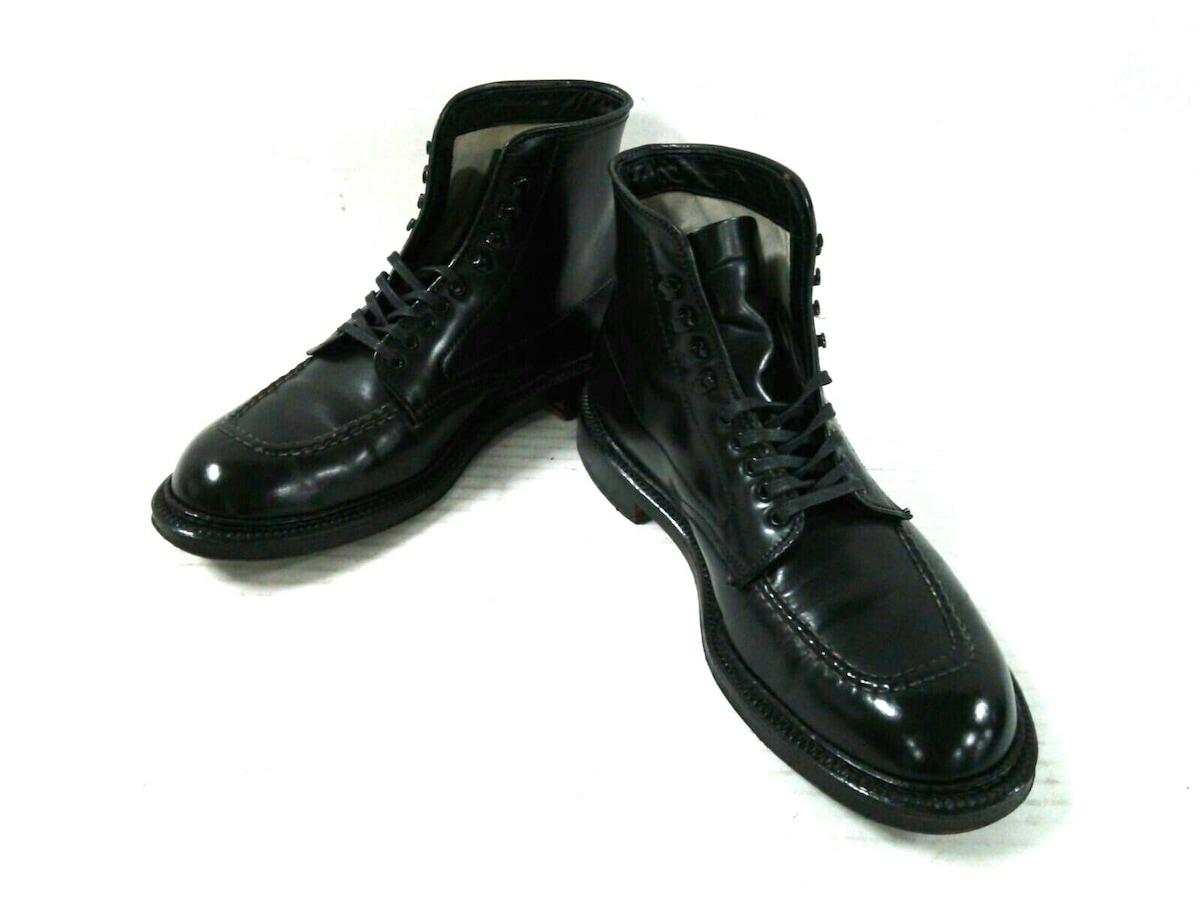 Alden(オールデン)のブーツ 黒