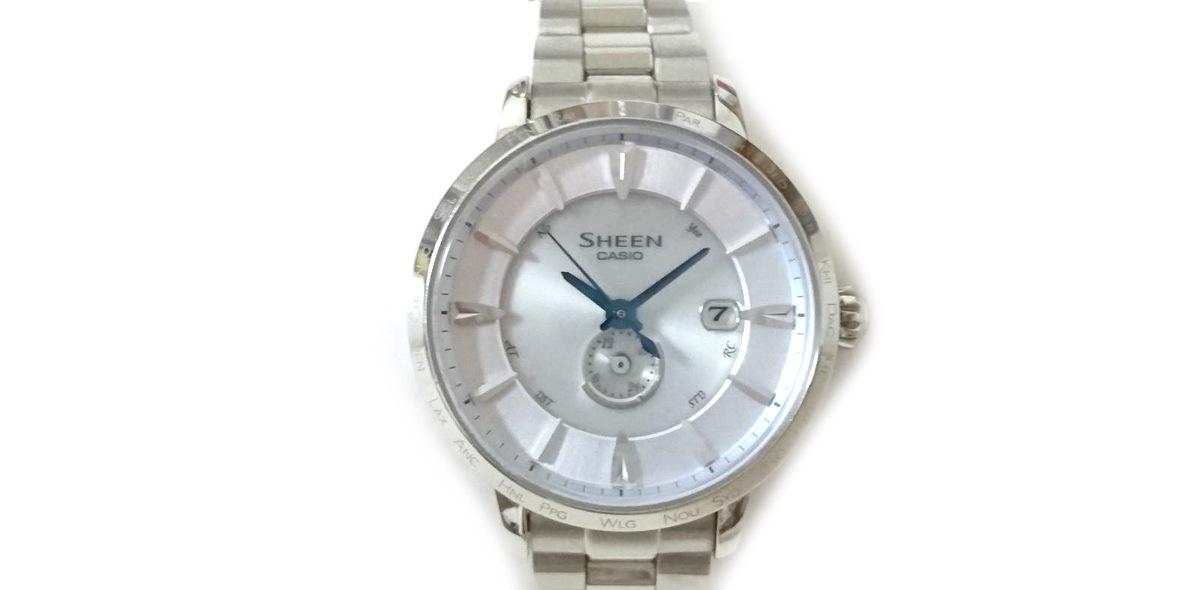 c84f0a8e03 CASIO(カシオ) 腕時計美品 SHEEN SHW-1800 レディース(12531481)中古 ...