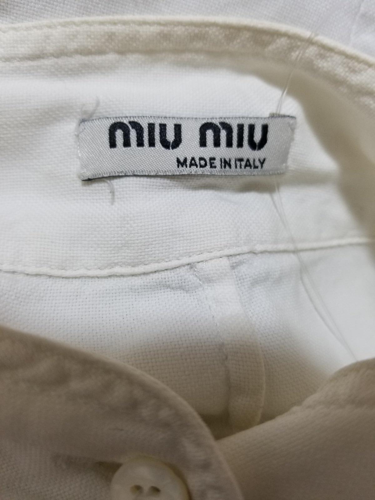 miumiu(ミュウミュウ)のシャツブラウス