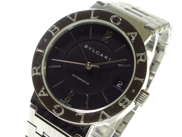 first rate 6d479 f4d25 BVLGARI(ブルガリ) 腕時計 ブルガリブルガリ BB33SS メンズ 黒