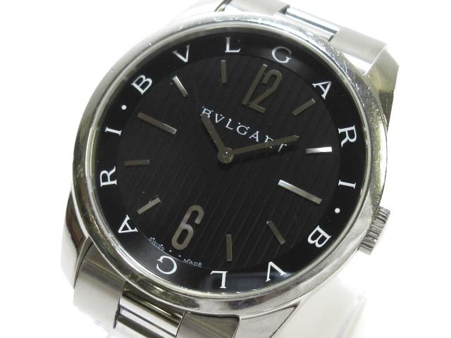 ブルガリ ソロテンポ 腕時計